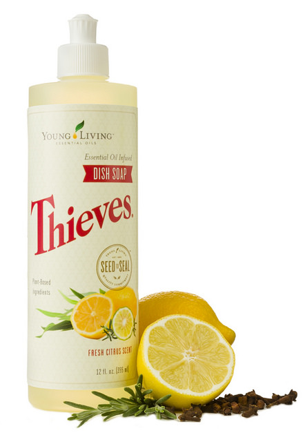 YOUNG LIVING THIEVES DISH SOAP